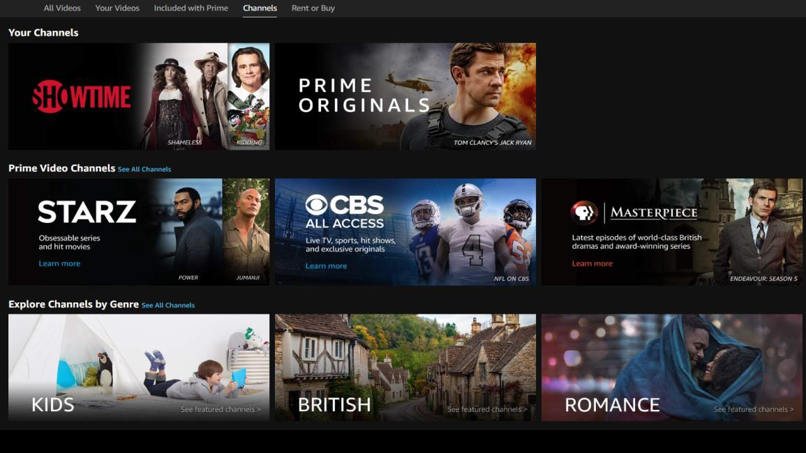 Amazon Prime Video is now available on BT TVs 4K set top