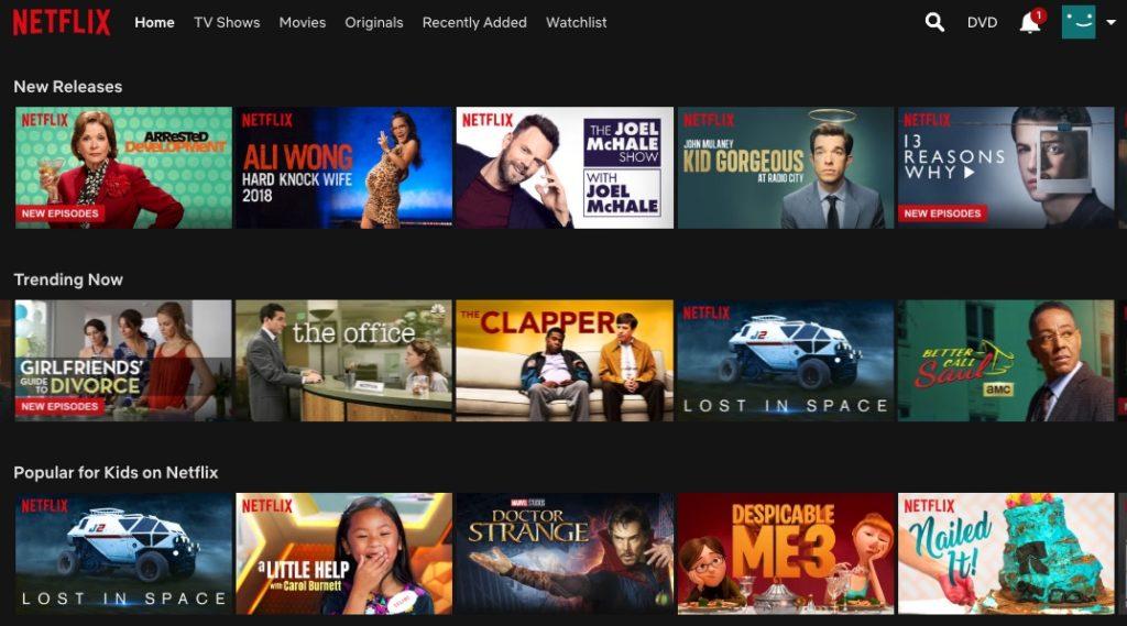 Usa Netflix