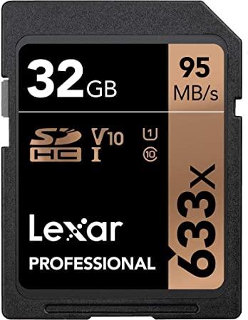 Lexar Professional 633x SDHC