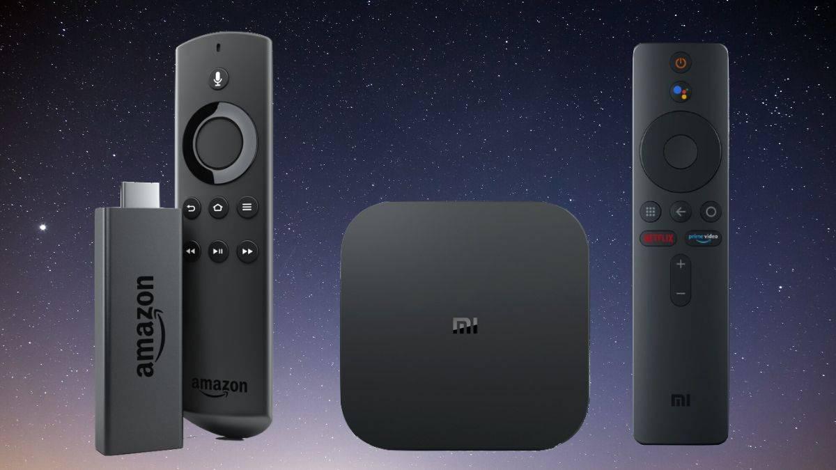 Xiaomi Mi Box Vs Amazon Fire TV Stick specifications