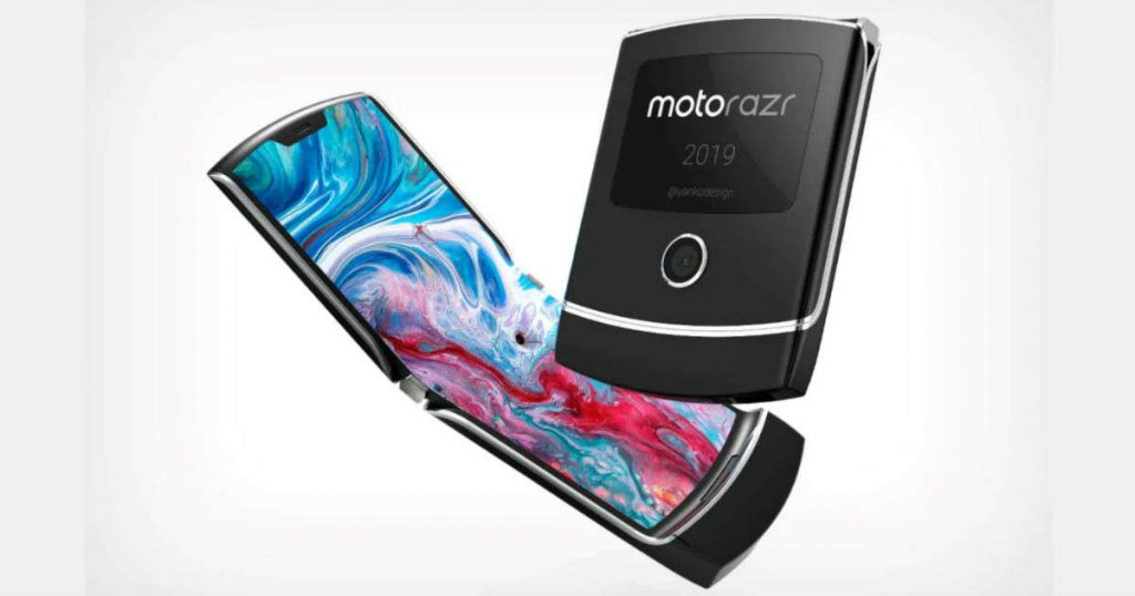 Motorola Razr 5 dual screen